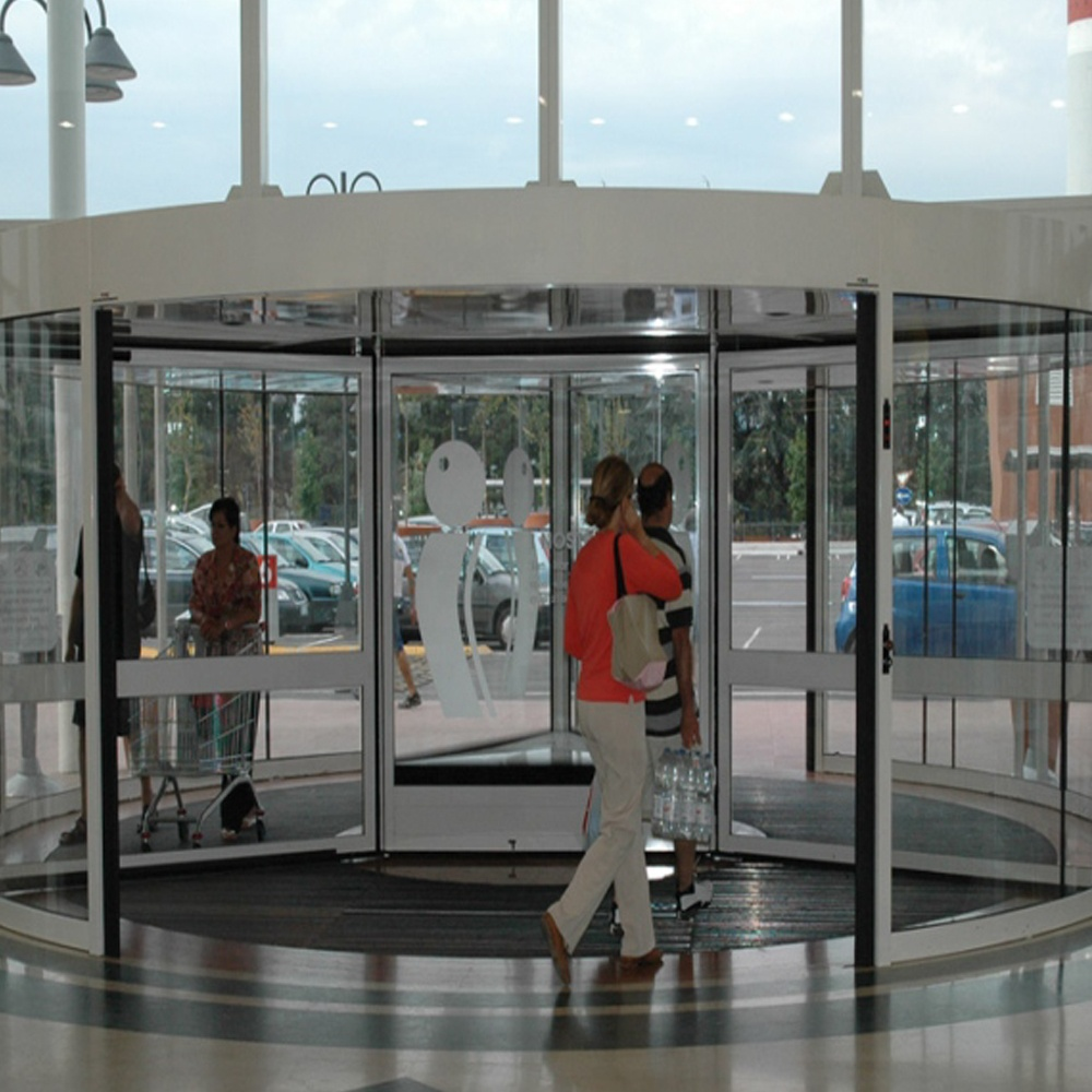 Automatic Revolving Door with 2 panels