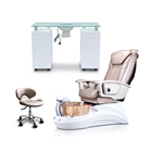 S839 Pipeless Modern Luxury Lexor Manicure Spa Pedicure Chair For Sale