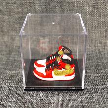 Ag брелок Подвеска акриловый мяч сбор Баскетбольная обувь трехмерная модель брелок сумки автомобиль подарок на день рождения брелок(Китай)