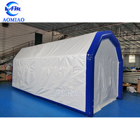 Outdoor Movable First Aid Evacuation Inflatable Medical Tents for Field Hospitals
