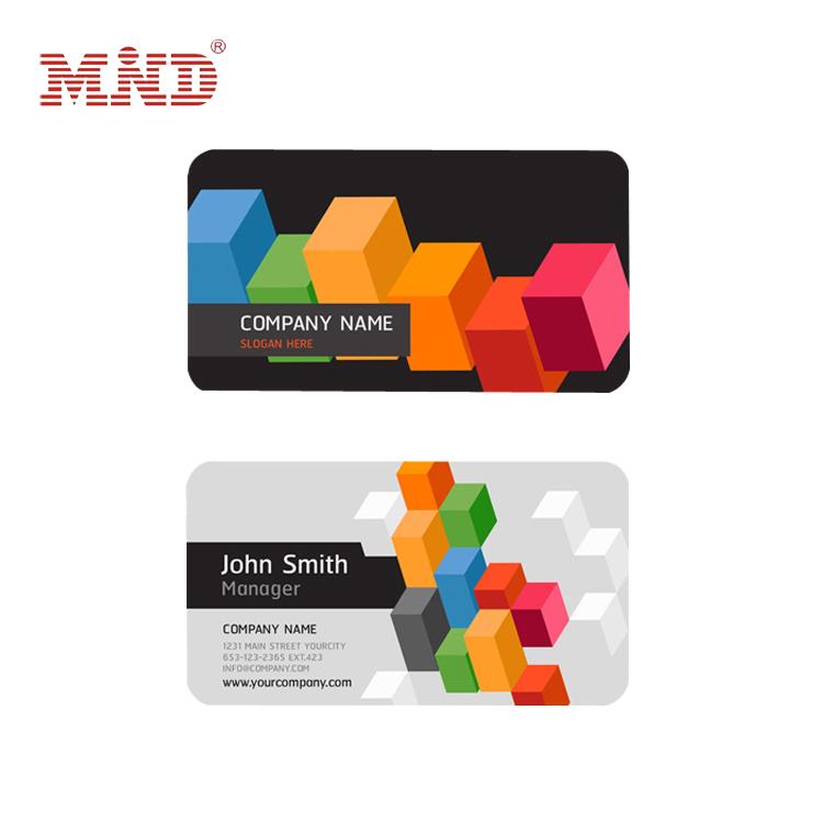 MIND Laminated plastic business card