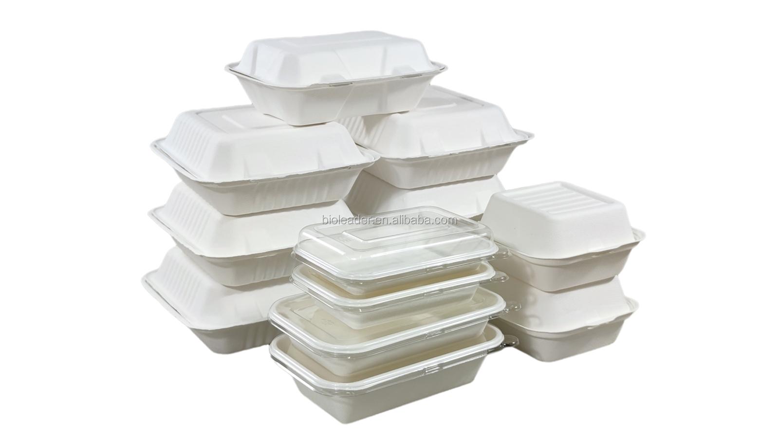 100% Biodegradable อ้อยภาชนะบรรจุอาหาร