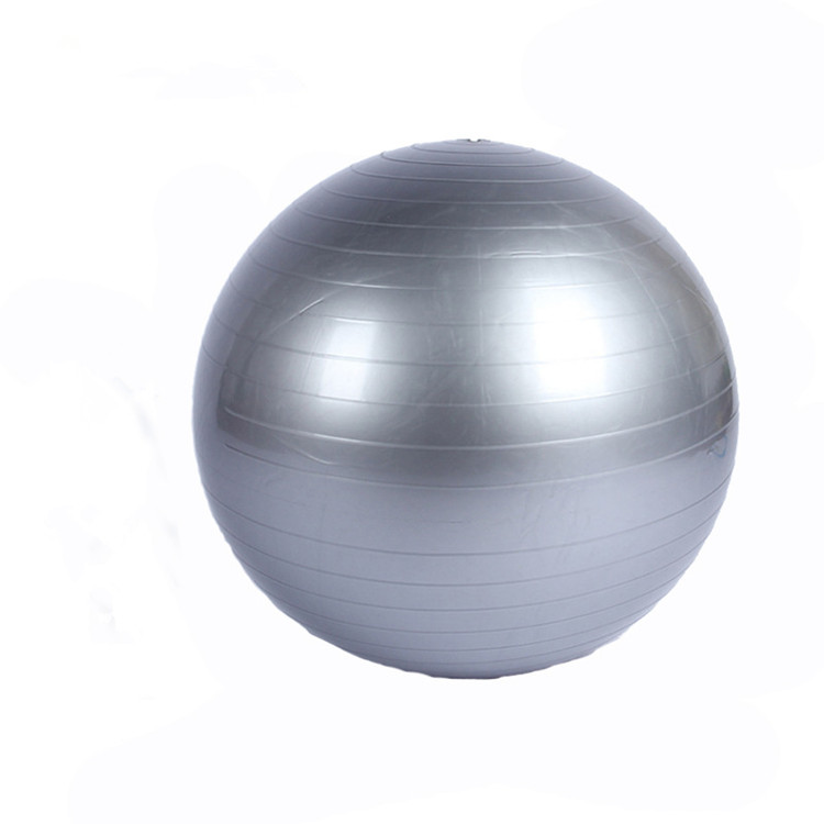 2020 Hot Sale Fitness PVC Grey <strong>Yoga</strong> <strong>Ball</strong> 65cm Custom Logo Gym <strong>Yoga</strong> Balance <strong>Ball</strong> With Pump