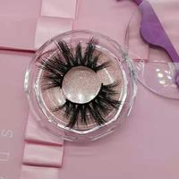 Crisscross lashes 3d real wholesale mink eyelashes vendor