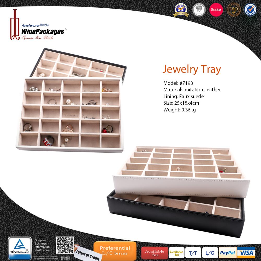 20 Grid Custom Classic Wholesale Jewelry Display Tray