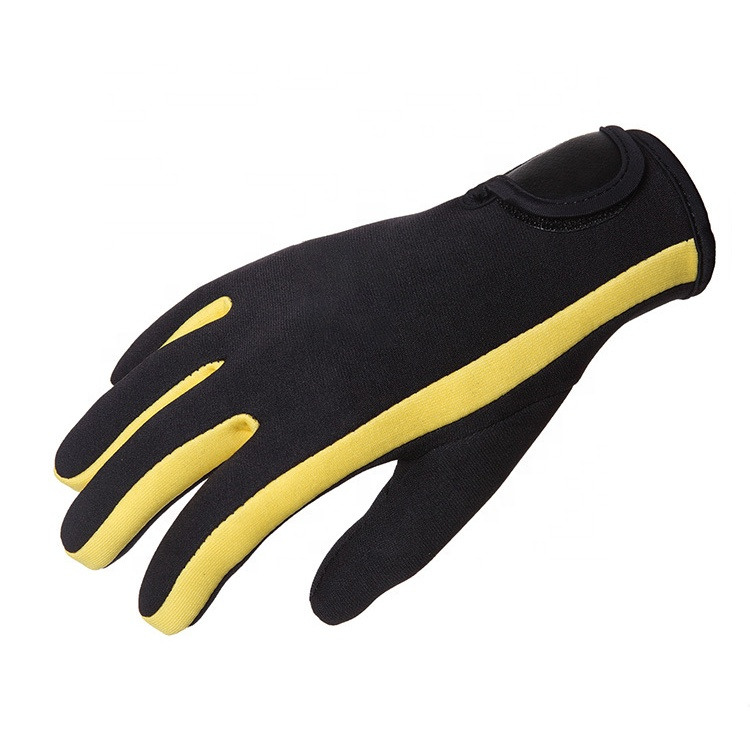 Dirty and cold resistant 3mm new hot surf diving diving warm non-slip gloves