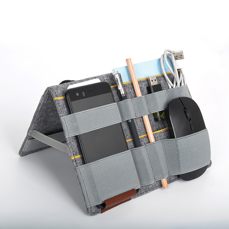 Daily work charger holder and cable box organizer