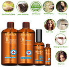 Wholesale Private Label Brazil's Keratin Hair Deep Shampoo Conditioner Essential Oil Set Hair Treatment