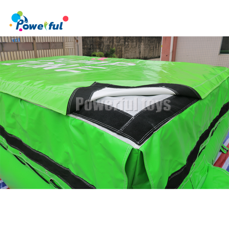 Inflatable Gym Free Fall Jumping  AirBag For Trampoline Park