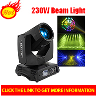 New design Terminator led dj disco stage light beam 260w 9r beam moving head light for party culb