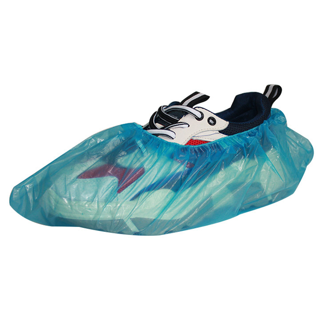 Hot selling Chinese factory disposable pe coated waterproof shoe covers waterproof with competitive price