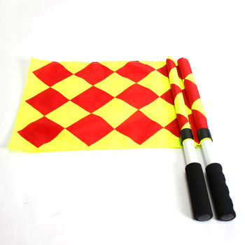 Hand Held Umpire Beeper Linesman Referee Flags Football