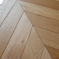 Natural oil color Laminate Hdf Waterproof 8mm 10mm AC4 class31 chevron engineered wood timber flooring