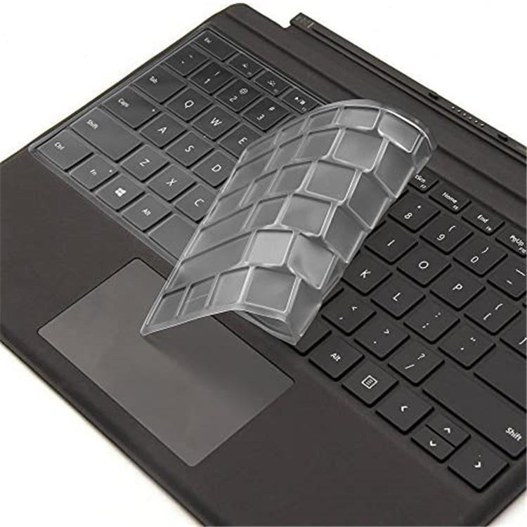 מפעל מחיר עבור Surface של מיקרוסופט Pro 7 מקלדת כיסוי פרימיום Ultra דק שקוף משטח פרו מקלדת עור