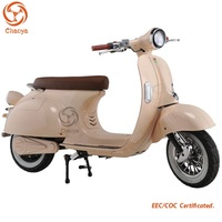 Original Factory Vespa electric scooter 3000w motor with Lithium battery for sale
