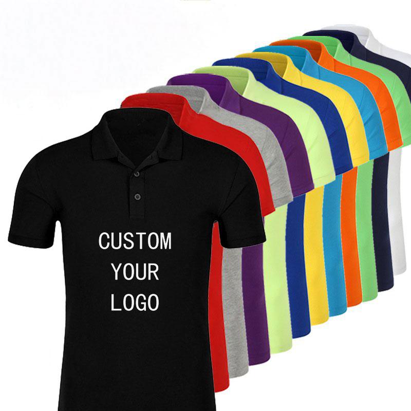नि: शुल्क नमूने थोक पॉलिएस्टर आकस्मिक उच्च बनाने की क्रिया काले सूखी फिट सफेद कपास रिक्त पोलो कस्टम मुद्रण आदमी टी शर्ट पुरुषों टी शर्ट