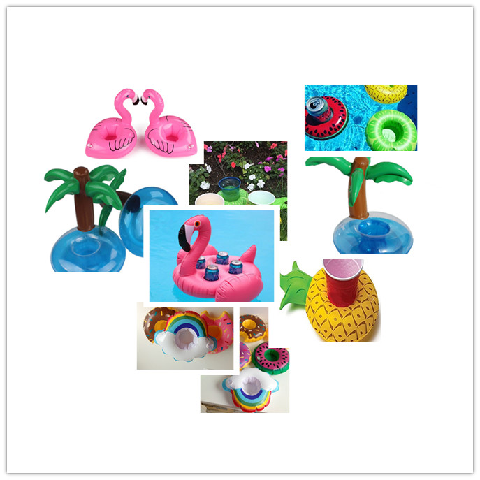 Custom beach cup holder Fun and Fruity Pool Float Cup Drink holder pool floating  for pool  Toy Party Drink Cup Holder
