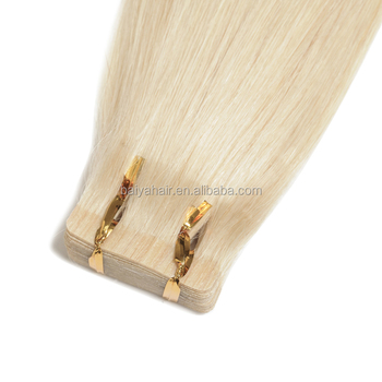 100% Remy Human Hair Extensions Tape in Hair #60 Balayage Color 2.5g per pieces tape hair extension