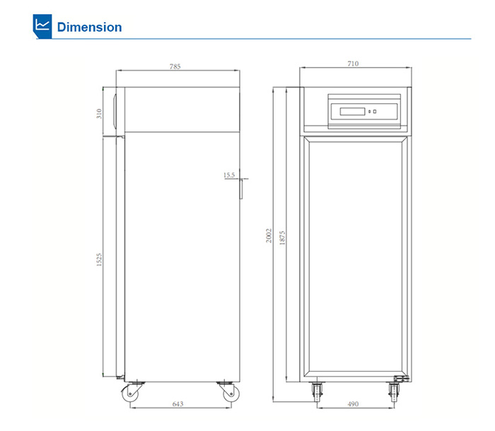 CE approved glass door upright vaccine freezer