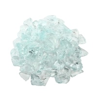 China wholesale recycled glass cullet chips broken colored glass