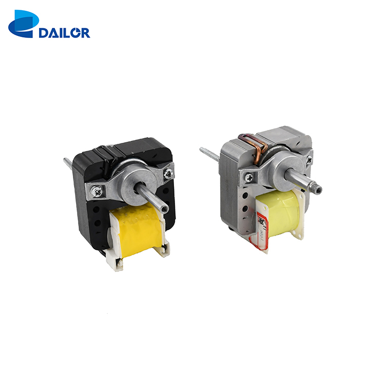 high speed low noise single phase shaded pole ac electrical exhaust fan motor