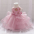 New Arrival Children Princess Dresses Big Bow Three-layer Net Kids Costume Baby Party Ball Gown