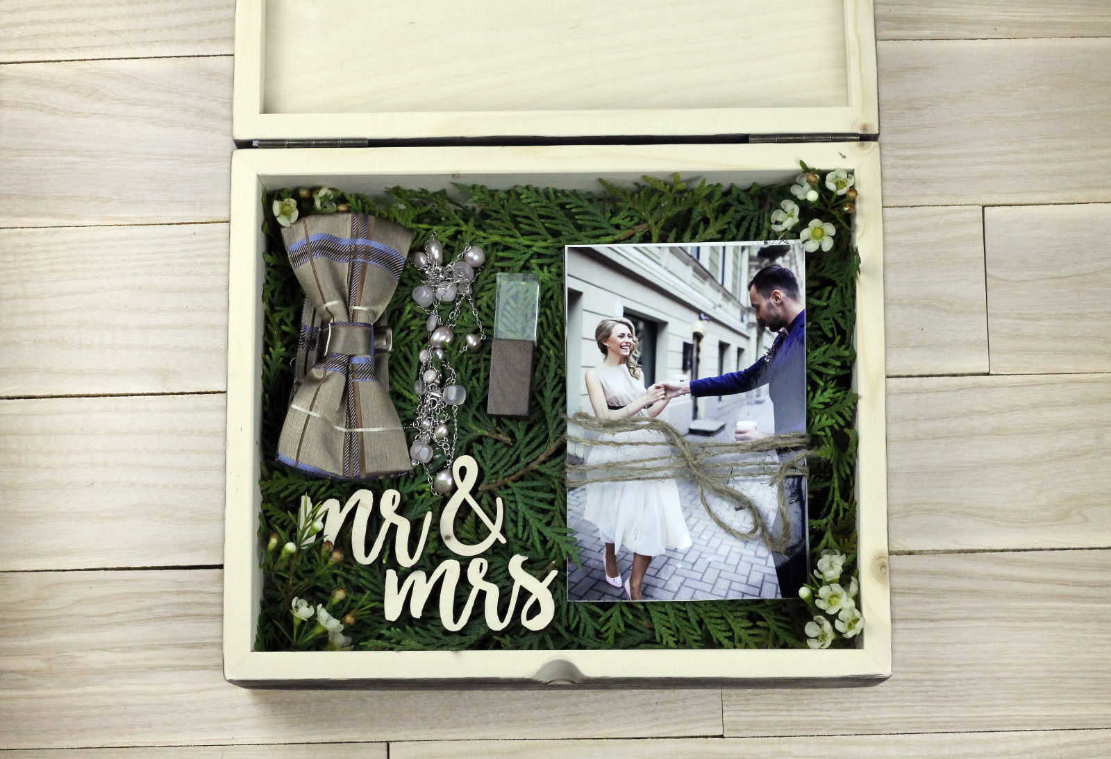 Wedding Keepsake Large Box Memory and Gift Box