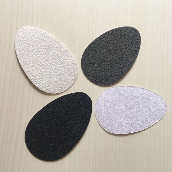 Shape Self-Adhesive Anti-Slip Pads Shoes Mat Heel Sole Grip Sole Protectors