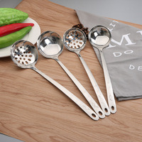 Hot Pot Spoon Metal Stainless Steel Soup Spoon for Chafing Dishes