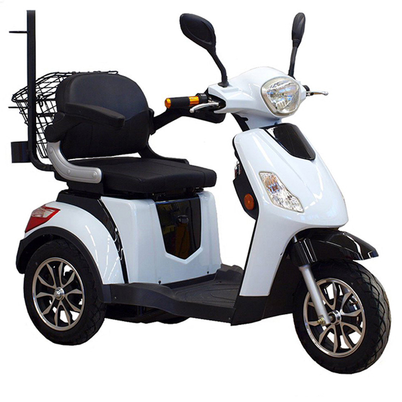 load recreational mobility 3 wheels electric tricycle trike scooter for disabled