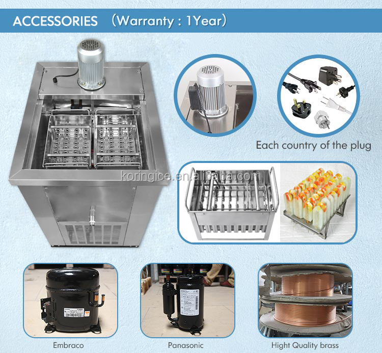 China Factory Wholesale Frigomat Shaved Ice Cream Stick Bar Machine