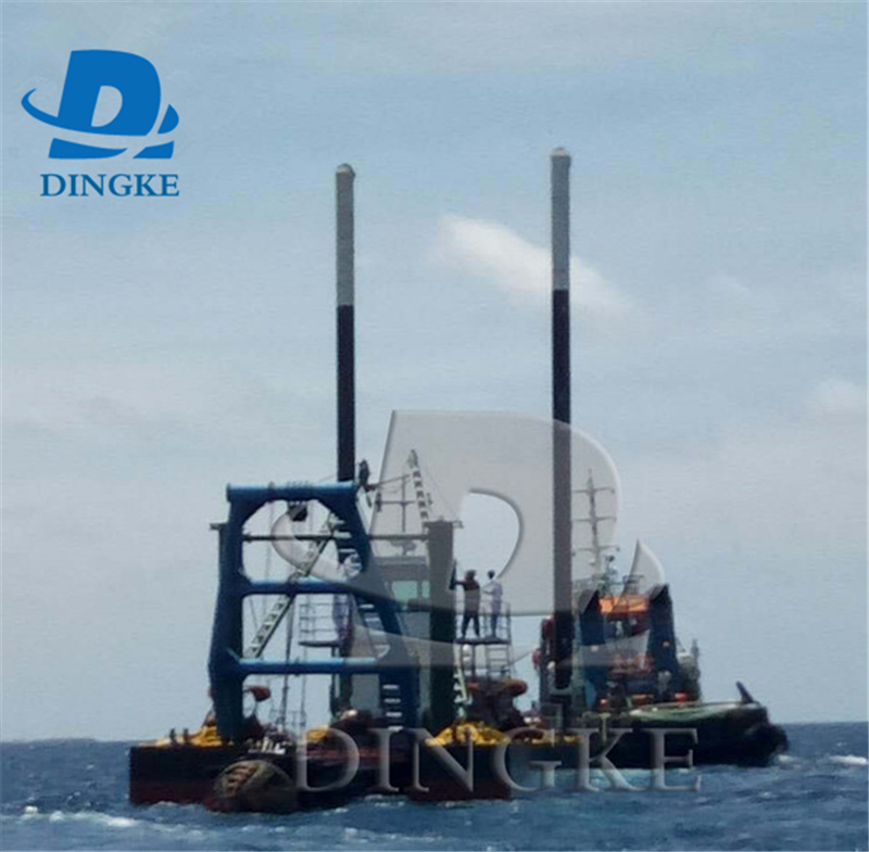 Hot Sale Cutter Suction Dredger with hydraulic system