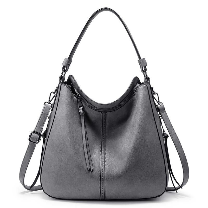 REALER женские классические сумки через плечо, Женская Повседневная Большая вместительная сумка, высокое качество, женские сумки через плечо(Китай)