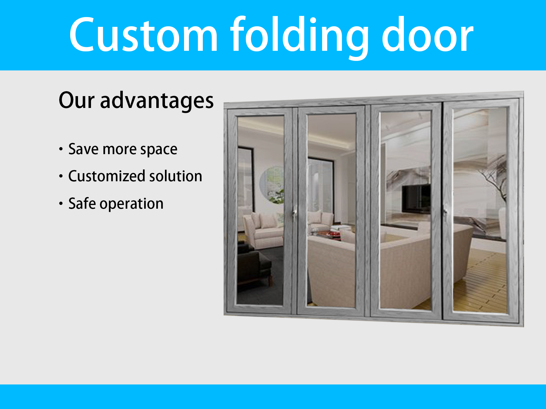 folding industrial door patio curve folding glass door