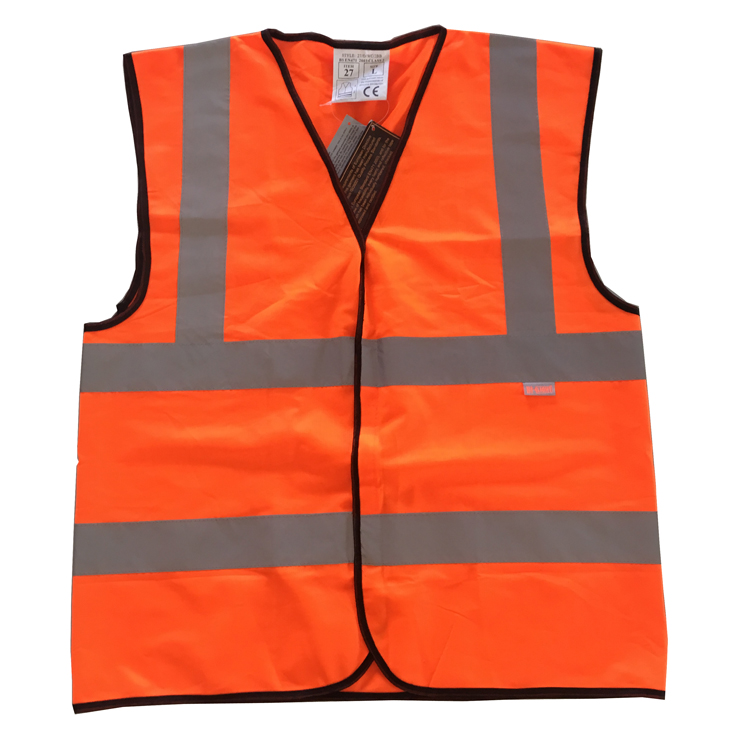 <strong>Orange</strong> Reflective <strong>Vests</strong> for Safety