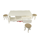 Table Acrylic Set Factory Direct Supply Table Display Stand Acrylic Table Set