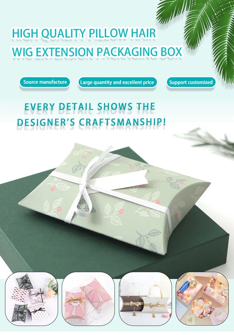 product-Flamingo design large custom packaging box wig pillow box for promotion-Dezheng-img-4