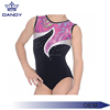 Custom collegiate style design high elastic comfortable girl gymnastics leotard