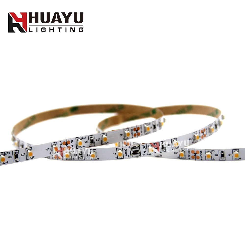 Factory Price High Cri Ra 80 90 95 60LED/M White color SMD 3528 led flexible strip light 300leds/roll