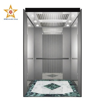 630Kg 8 Persons MRL Passenger Lift Elevator with standard design
