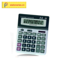 Newest Office Accessories Good Quality Multicolour 10 Digits 2-line Display Students Scientific Gifts Calculator 12 Digit Mass