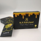 Custom Printed Paper Display Box With Plastic Aluminum Foil Sachet For Royal Honey Packaging / 10g Honey packing Pouch