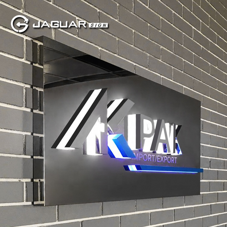 Manufacturer Custom Company Lobby Sign Outdoor Store Electric Sign Board