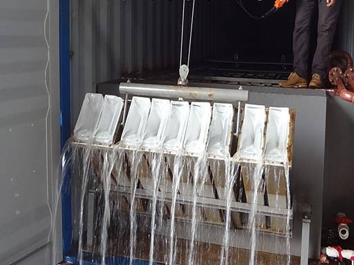 2018 Hot Sell Energy Saving Block Ice Making Machine