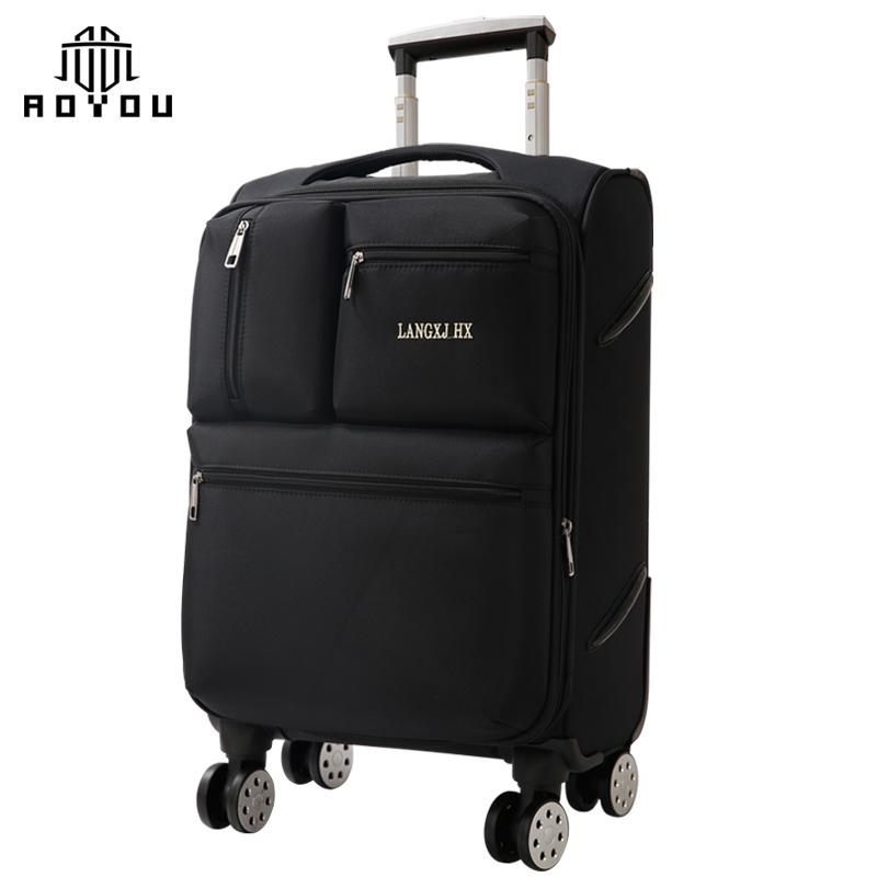 2019 Travel Bag Suitcase Luggage Set Custom logo 4 wheel travel world trolley luggage bag