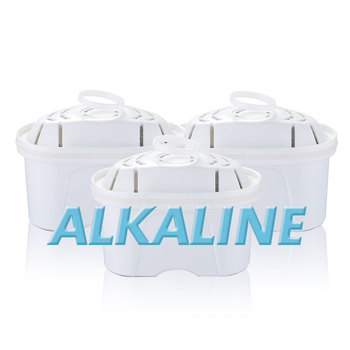 Alkaline Water Filter - Replacement Pitcher Water Filters Cartridge Improve PH
