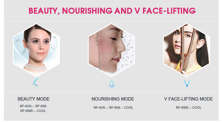 Korea rf skin tightening face lifting machine best home microcurrent device ems fitness machines muscle stimulator