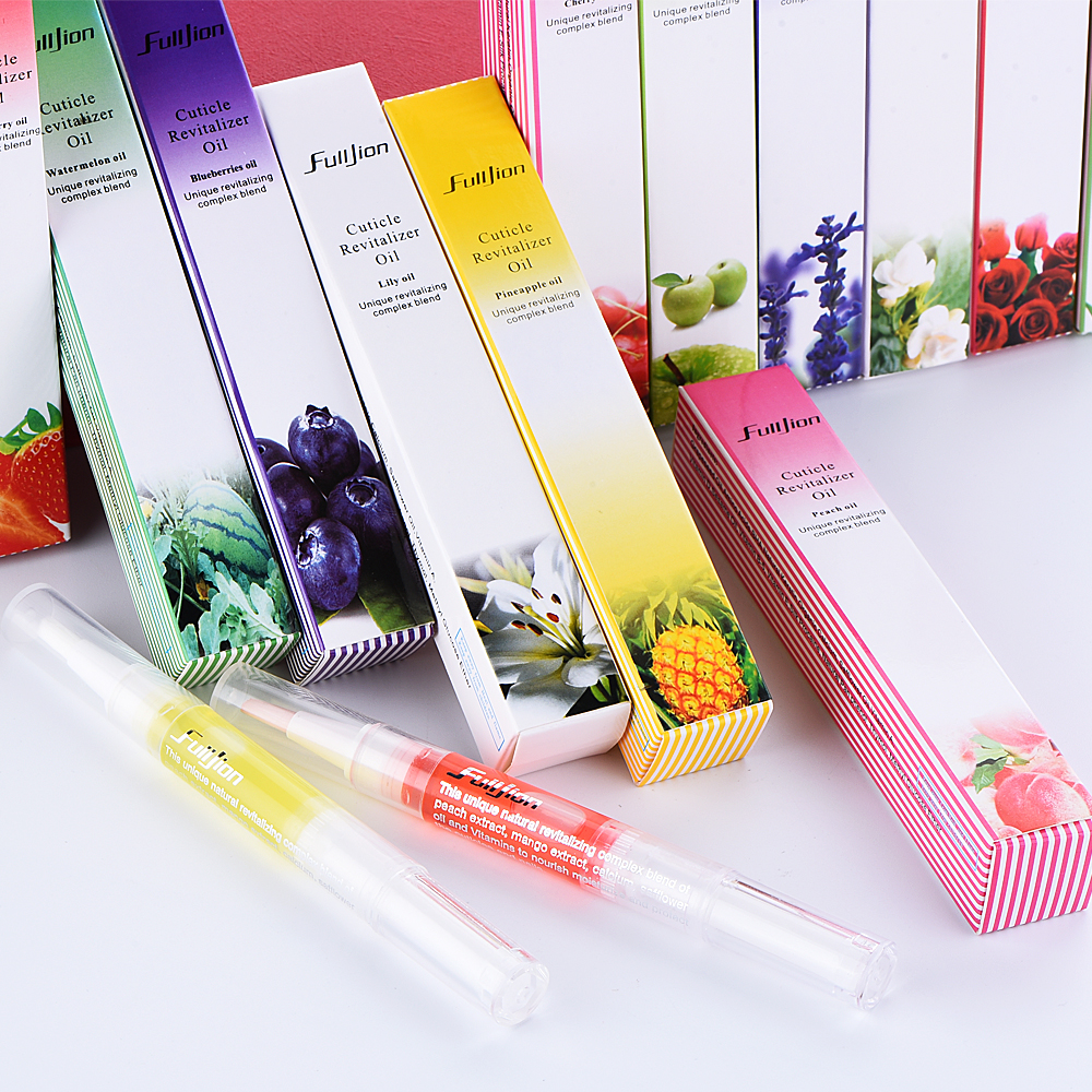 OEM ODM Private Label Beauty Personal Care Nail Suppliers Cuticle Nourishment Oil 15 Smells Nail Exfoliator Remover Brush Pen
