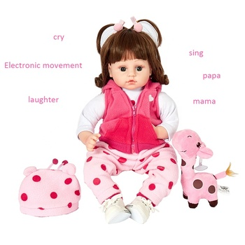 Custom doll for kid girl toys New hot products lifelike interactive handmade silicone reborn baby dolls wholesale