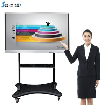 Best price portable infrared usb touch interactive smart electronic whiteboard 4k all in one education with clicker